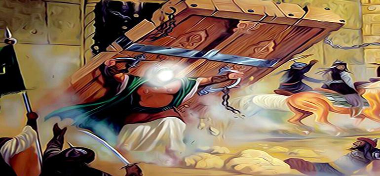 ఖైబర్ యుద్ధం జరగడానిక కారణం